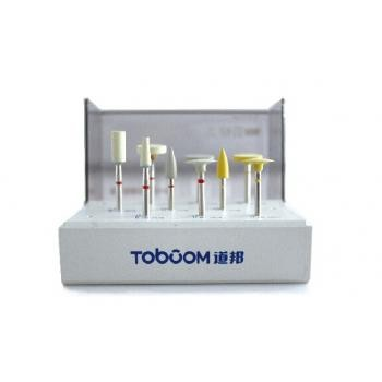 Toboom® HP-HP0109Dジルコニア材修整研磨用ポイントセット