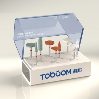 Toboom® HP-HP0409D貴金属材研磨用ポイントセット
