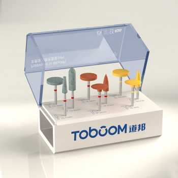 Toboom® HP-HP0509D非貴金属材研磨用ポイントセット