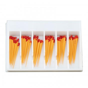 5Pack / 300Pcs Dentsply Maillefer Protaper歯科ガッタパーチャポイントチップF2